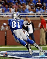 Calvin Johnson 2014 Action Fine Art Print
