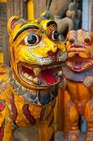 Colorful handicrafts, Pushkar, India. Fine Art Print