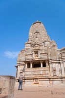 Jain Temple in Chittorgarh Fort, Rajasthan, India Fine Art Print