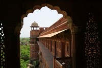 Architecture of Agra Fort, India Fine Art Print