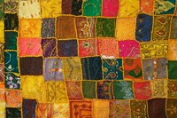 Colorful Carpet, Pushkar, Rajasthan, India Fine Art Print