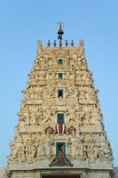 Hindu Temple in Pushkar, Rajasthan, India Fine Art Print