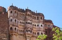 Meherangarh, Majestic Fort, Jodhpur, Rajasthan, India Fine Art Print
