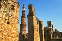 Qutub Minar, Delhi, India Fine Art Print