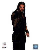 Roman Reigns Wrestling Tatoos Fine Art Print