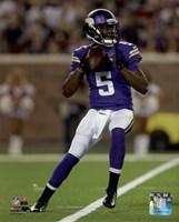 Teddy Bridgewater 2014 Action Fine Art Print