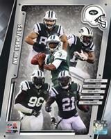 New York Jets 2014 Team Composite Fine Art Print
