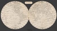 Map of the World, 1812 Fine Art Print