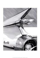 White Cadillac Fine Art Print