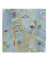 Climb or Fly? Fine Art Print