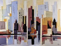 Urbania 4 Fine Art Print