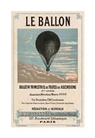 Le Ballon, Paris Fine Art Print