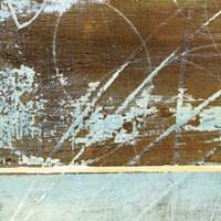 Barn Blue Square I Fine Art Print