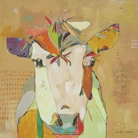 Mom Cow Fine Art Print