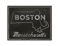 Boston, Massachusetts Fine Art Print
