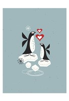Penguin Love Fine Art Print