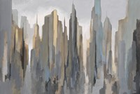 Midtown Skyline Fine Art Print