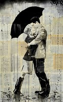 The Black Umbrella Fine Art Print