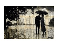 Rainy Day Rendezvous Fine Art Print