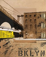 Williamsburg, Brooklyn Fine Art Print