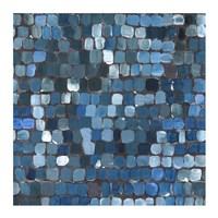 Cobalt Cobbles Fine Art Print