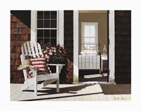 Summer Cottage Fine Art Print