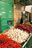Machne Yehuda Market, Jerusalem, Israel Fine Art Print