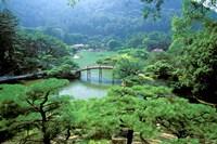 Ritsurin Park, Takamatsu, Shikoku, Japan Fine Art Print
