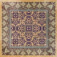 Floral Tile I Fine Art Print