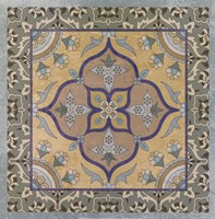 Floral Tile II Fine Art Print