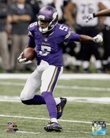 Teddy Bridgewater Football Run Fine Art Print