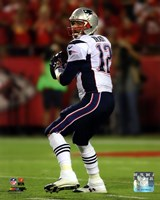 Tom Brady 2014 ready to throw Fine Art Print