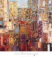 City Sunshower Fine Art Print