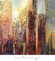 City Daybreak Fine Art Print