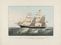 "The Clipper Ship ""Sovereign of the Seas"", 1852 Fine Art Print"