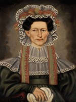 Lady of Squire Williams House, ca. 1829 Fine Art Print