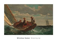 Breezing Up (A Fair Wind), 1873-1876 Fine Art Print