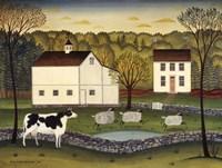 White Farm Fine Art Print