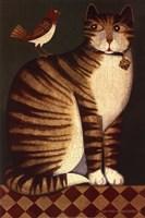 Temptation I (Cat) Fine Art Print