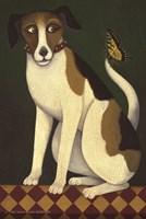 Temptation II (Dog) Fine Art Print