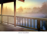 Lodge Deck Fine Art Print