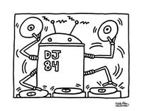 DJ 84, 1983 Fine Art Print