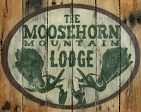 The Moosehorn Mountain Lodge Fine Art Print