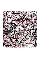 Metalface, 2011 Fine Art Print
