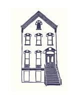 Williamsburg Building 5 (Next Door on Maujer) Fine Art Print