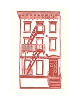 Williamsburg Building 7 (S. 4th and Driggs Ave.) Fine Art Print