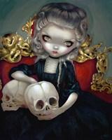 Les Vampires Les Cranes Fine Art Print