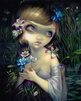 Portrait of Ophelia Fine Art Print