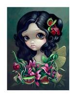 Carnivorous Bouquet Fairy Fine Art Print