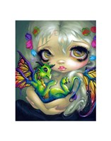 Darling Dragonling IV Fine Art Print